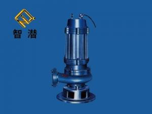 潜水带切割装置排污泵